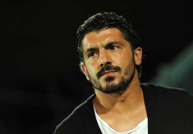 Former Milan midfielder Gennaro Gattuso
