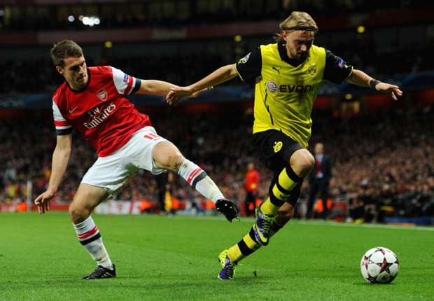 Borussia Dortmund-Arsenal Preview: Wilshere & Gibbs expected to miss out