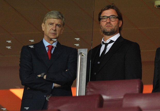Klopp and Wenger draw comparison in their ideals but disparity in their personas