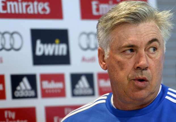 Carlo Ancelotti no se confía del partido ante Osasuna