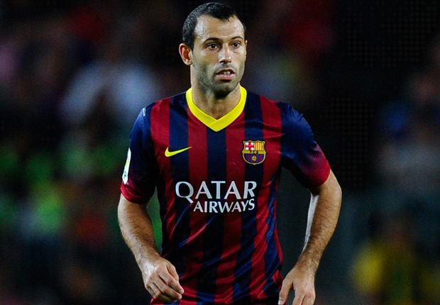 Mascherano agrees contract extension with Barcelona