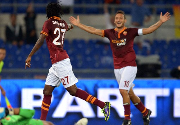 Gervinho is like Cristiano Ronaldo, claims Totti