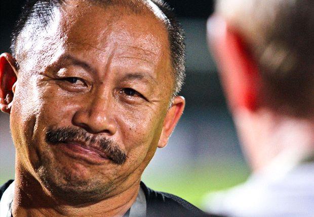 Harimau Muda B coach Razip Ismail.