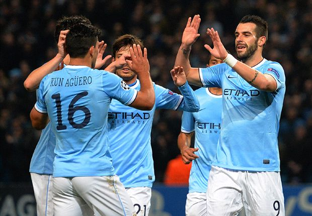 Manchester City 5-2 CSKA Moscow: Negredo hits hat trick as City progresses
