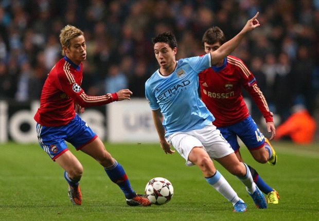 Nasri feeling 'loved' at Manchester City