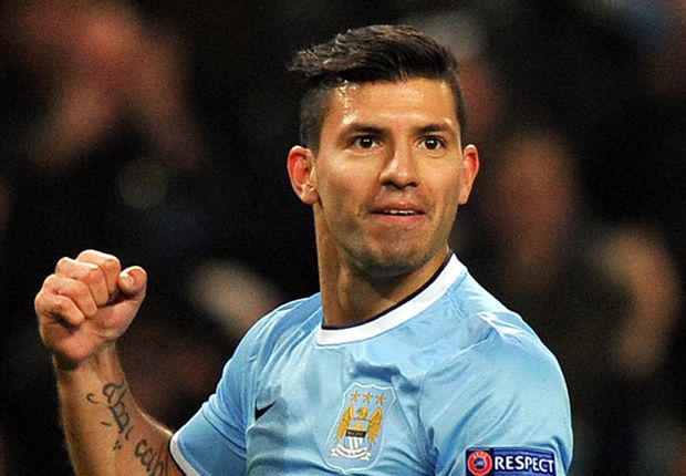 Aguero only behind Messi and Ronaldo - Pellegrini