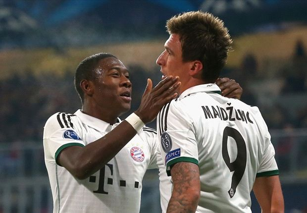 Viktoria Plzen 0-1 Bayern Munich: Mandzukic fires Bavarians into last 16