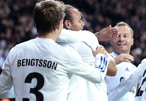 Copenhagen 1-0 Galatasaray: Brilliant Braaten stuns Mancini's men
