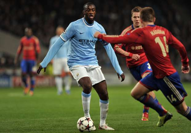Yaya Toure says he feels the love from fans and trust from the coach at Manchester City