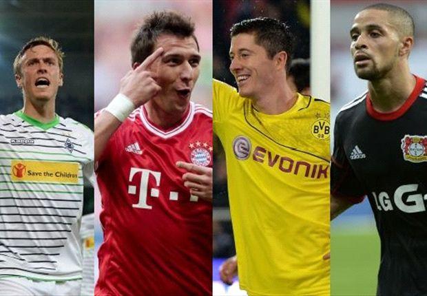 Wer trifft am zwölften Spieltag der Bundesliga?