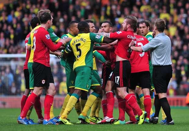 Cardiff fined £20,000 over Norwich brawl