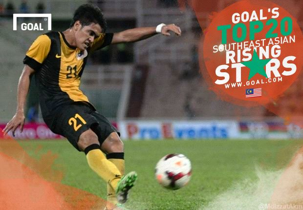Goal's Top 20 Southeast Asian Rising Stars: Nazmi Faiz - Malaysia