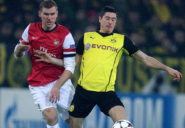 Mertesacker was rock solid against Dortmund.