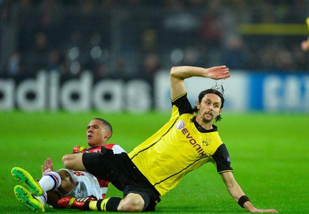Dortmund war nach dem Spiel am Boden