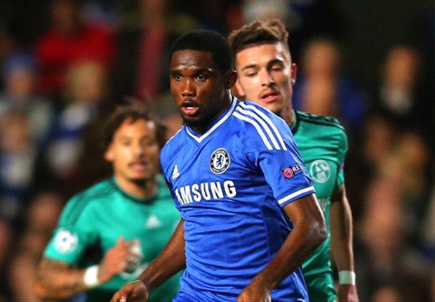 Samuel Eto'o a inscrit 2 buts en Premier League cette saison