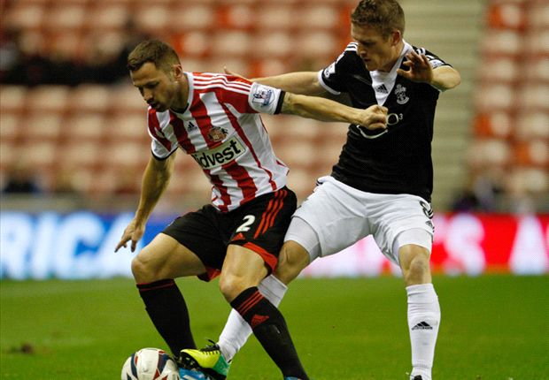 Sunderland 2-1 Southampton: Bardsley & Larsson book Black Cats' quarter-final spot