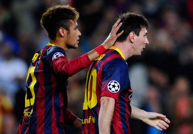 Neymar: Messi is a true great