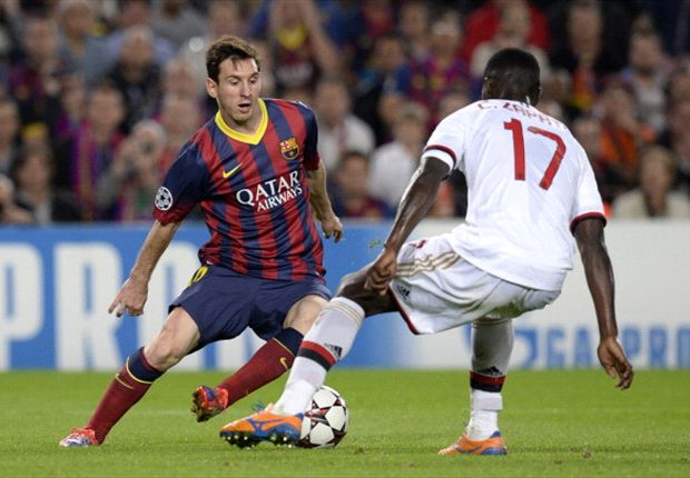 Milan were as good as Barcelona, says Zapata