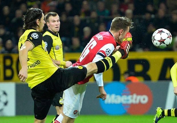 No bottle? Dortmund wilts under favorite tag