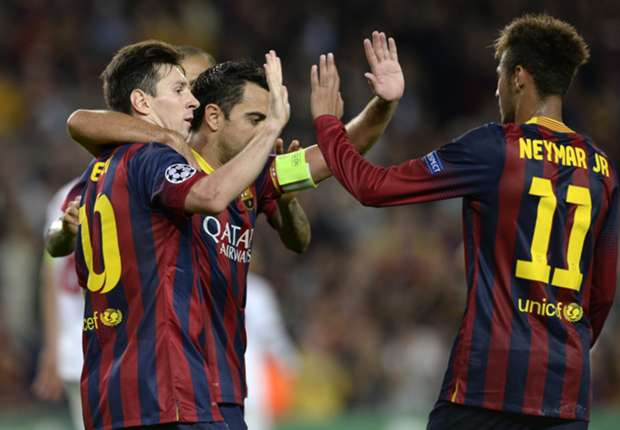 Martino: Messi played phenomenally well