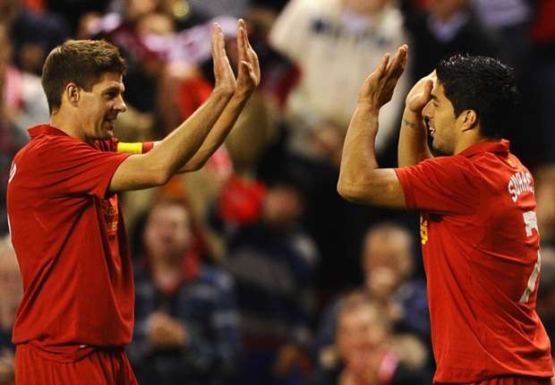 Gerrard backs Suarez for Ballon d'Or