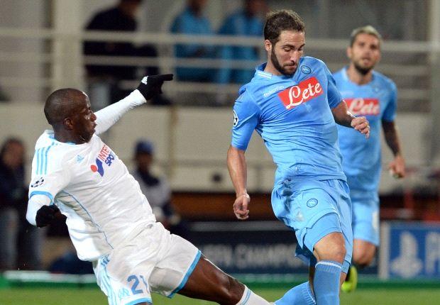 Higuaín scoorde twee keer tegen Napoli