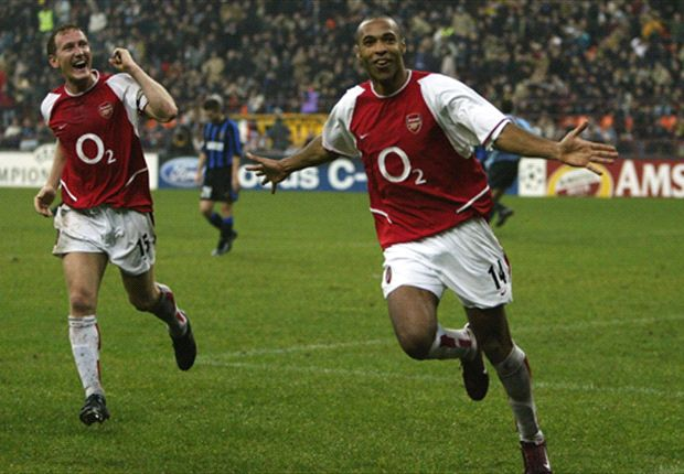 Henry, Pires only training with Arsenal