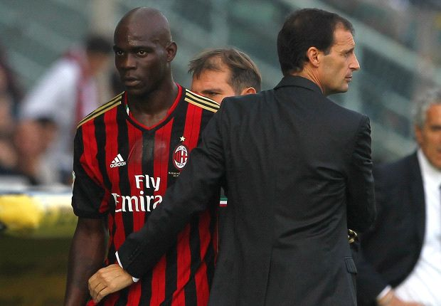 Balotelli: I'm happy at AC Milan