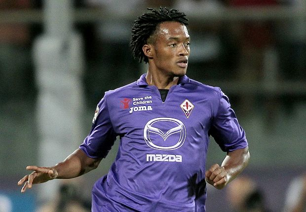 Cuadrado eager for Fiorentina success despite Bayern Munich rumours
