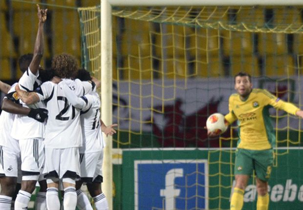 Kuban Krasnodar 1-1 Swansea City: Swans stung by injury-time equaliser