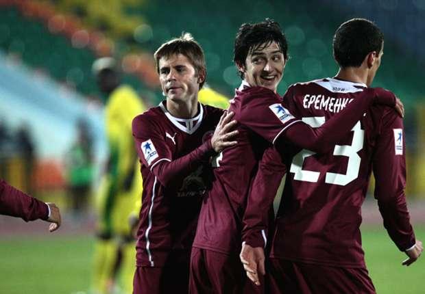 Rubin Kazan 1-0 Wigan: First European defeat for Latics