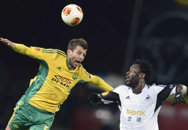 Kuban 1-1 Swansea: Los de Laudrup se vuelven a dejar empatar en el descuento