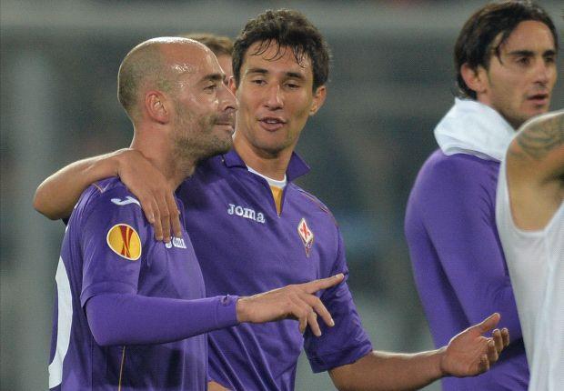 Pandurii Targu-Jiu 1-2 Fiorentina: Last-gasp Valero strike seals Viola's Europa League progression
