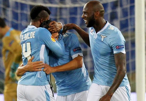 Lazio 2-1 Apollon Limassol: Floccari double seals vital win for Biancocelesti
