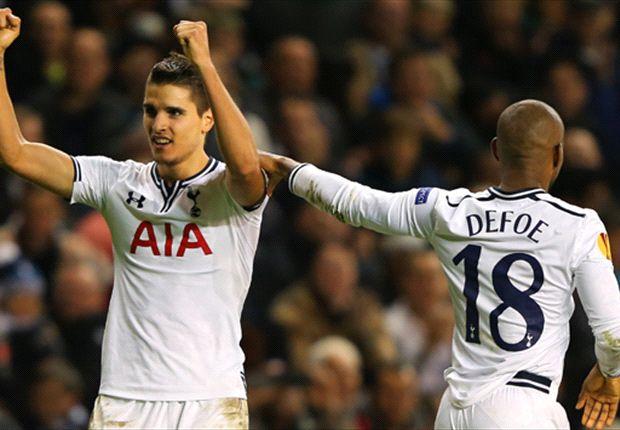 Villas-Boas hails Lamela after problematic adaptation to life at Tottenham
