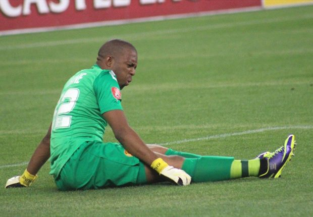 Itumeleng Khune: Chiefs down but not out (Photo by Ignat Manjoo)