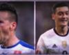 Özil vs Hamsik, la belle et la bête