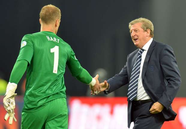 Hart will have to impress against Germany, warns Hodgson
