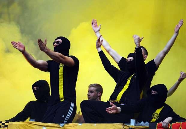Problemfans von Borussia Dortmund