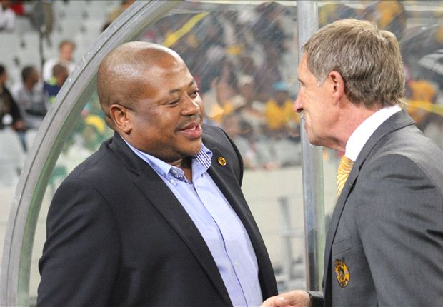 Bobby Motaung and Stuart Baxter agree to open cheque book (Photo by Ignat Manjoo)