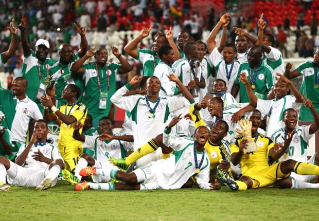 Golden Eaglets celebrate Fourth world title