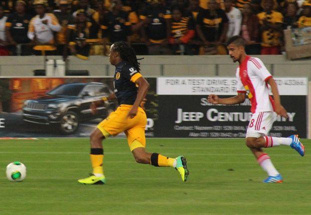 Tshabalala in action for Kaizer Chiefs recently (Photo by Ignat Manjoo)