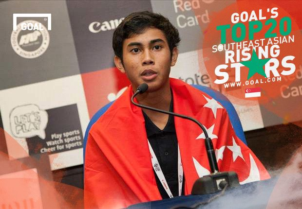 The Singapore starlet has been capped at international level already.