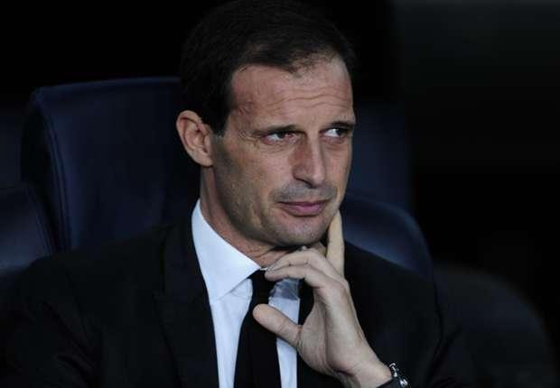 Milan coach Massimiliano Allegri