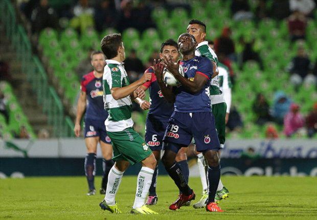 Liga MX: Santos Laguna 2-2 Veracruz | Empate sufrido para los laguneros
