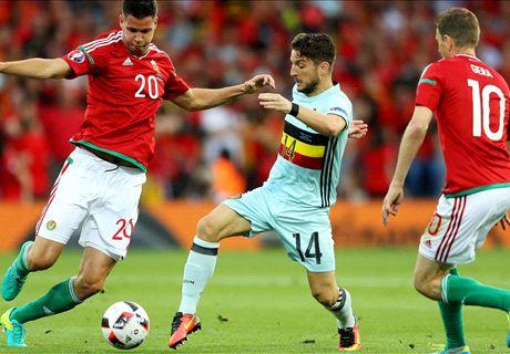 LIVE: Hungary 0-1 Belgium