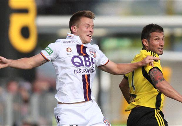 Wellington Phoenix 1-1 Perth Glory: Honours even in Christchurch