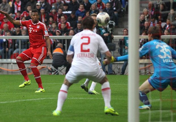 Boateng delighted with goal for record-breaking Bayern