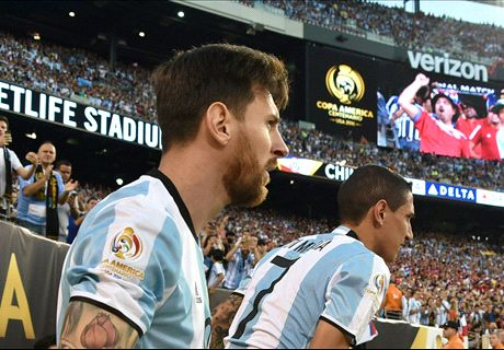 Messi retiring from international soccer