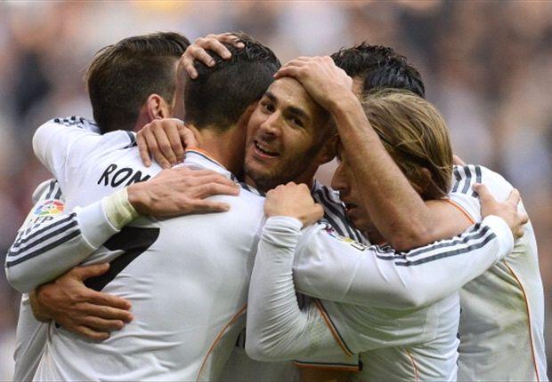 Diez jugadores ya han marcado con el Real Madrid esta temporada